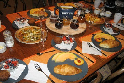 b&b canada montreal quebec breakfast